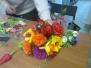14.02.2015r. - Warsztaty bibułkarskie - kwiaty wiosenne
