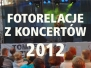 koncerty 2012