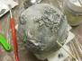 24.11.2018 warsztaty świąteczne - bombka z efektem kamienia